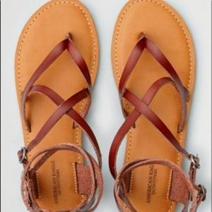 American Eagle outfitters flat sandals